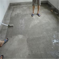 Ash and sand concrete floor, cements mortar floor repair glue