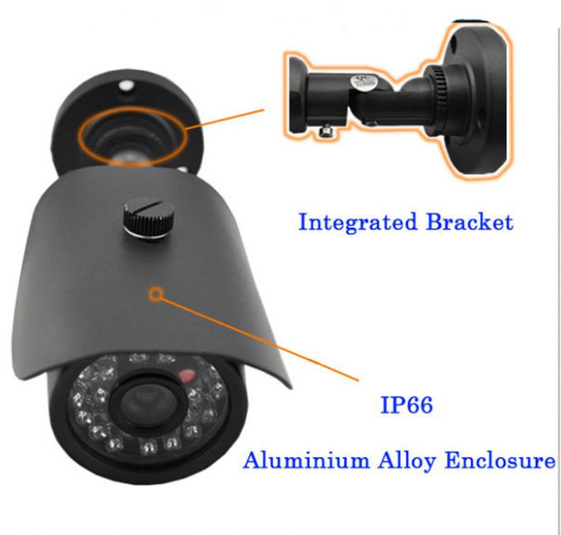 High quality traditional bullet ahd/tvi/cvi/cbs 4 in 1 cam for whole building outside