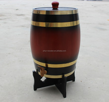 Custom made cheap wooden whiskey beer wine barrels for sale