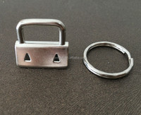 Competitive Price Key Fob Hardware With Split Ring For Sale