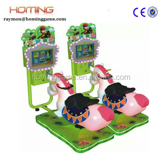 3D swing horse/Arcade Simulator 3D Horse Racing Game Machine for sale