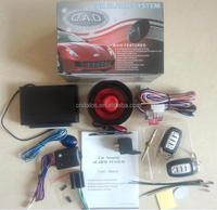 Hot sell in Egypt,Iran, Dubai,car alarm system with central lock system, window opuput and trunk release remote car alarm