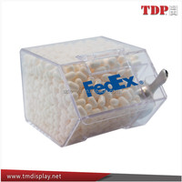 Fashionable Clear Acrylic Candy Display Case Manufacturer