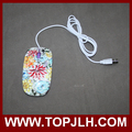 Cheap price computer mouse 3D photo printed wired mouse