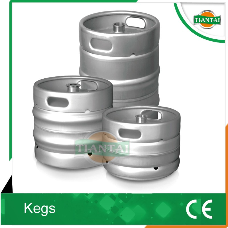 US standard 1/2 bbl barrel, stainless steel beer keg for brewery equipment packing beer