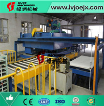 green building material for house decoration mgo board production line machine