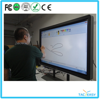 "Cheap Smart Class IR Multitouch Interactive Whiteboard 82"" With Smart Pen Tray"