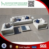 Indoor cheap rattan furniture living room corner sofa set for house