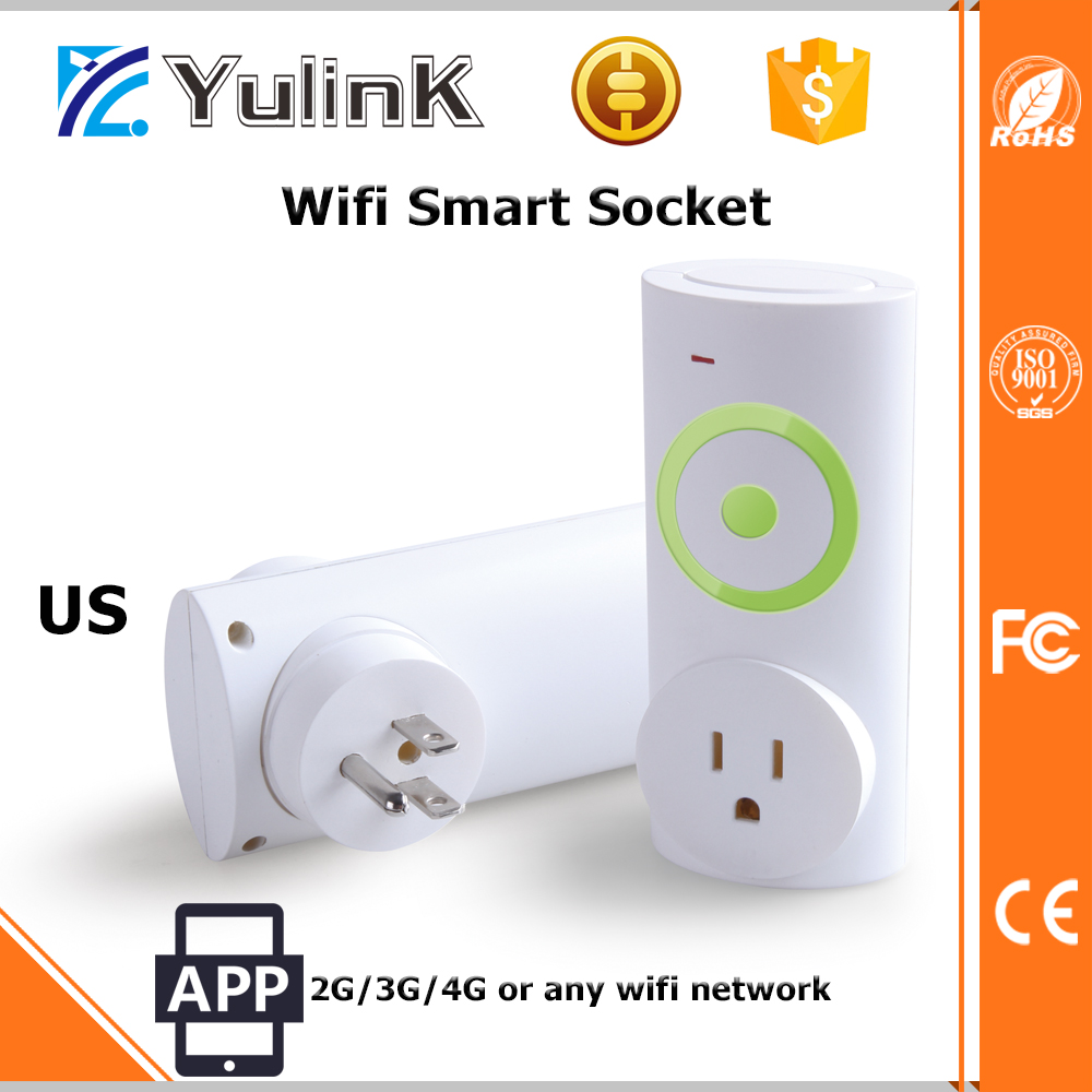 New Design Wi-Fi Smart Remote Control AC Socket with Mobile App Air Condition Smart AC Socket