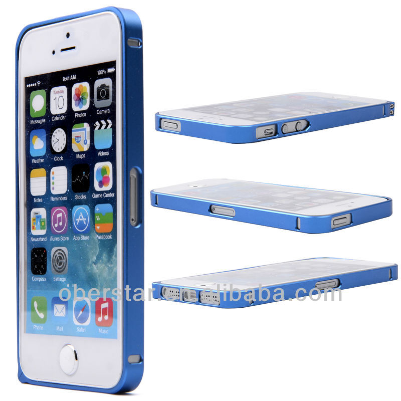 Top Quality Aluminum Hardness Case Aluminum Bumper Cover For iPhone 5 5S