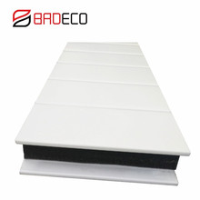 turkey steel sound absorbing fireproof rock wool sandwich panel price for agency
