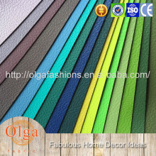PVC leather for sofa colorful leather sofa cover pvc synthetic leather