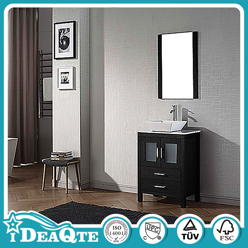 Building Material Slim Bathroom Products MDF Bathroom Vanity