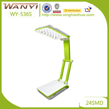 LED work study lamp chargeable bedroom lamp the long arm plastic table lamp/desk light