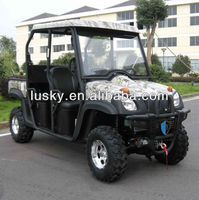 2014 new EEC/EPA 4 seats 500cc UTV EFI/carburetor
