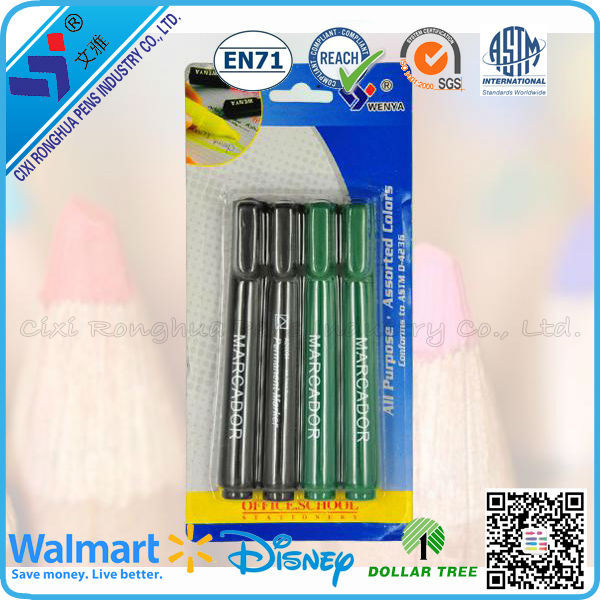wholesale china import white ink dry erase marker
