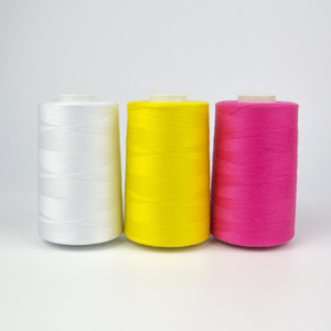 Hot China product sewing thread 100 percent spun polyester yarn for sewing