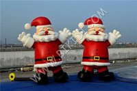 Hot sale inflatable cartoon,lowes christmas inflatables,inflatable santa claus decorations C1044