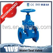 GOST cast iron/ductile iron gate valve cad drawings Tianjin Supply