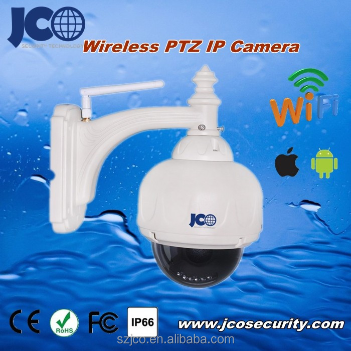 Solar power wieless outdoor dome ptz auto tracking wireless ip camera
