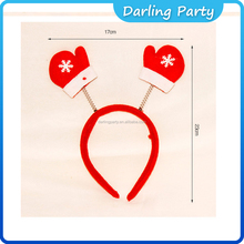 Adult Kids Christmas Xmas Novelty Headband- gloves