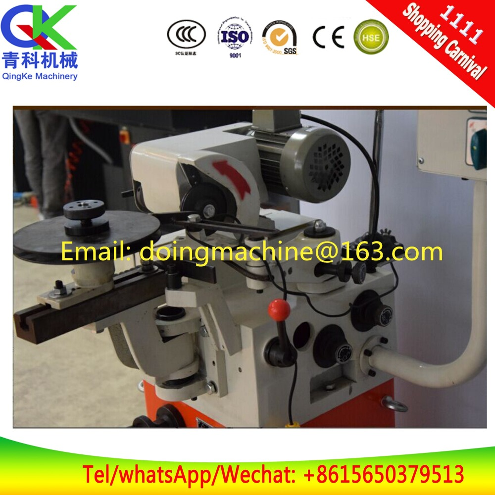 Circular saw blade grinding machines