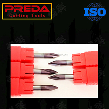 PREDA CNC Cutting Tools Made In China Solid Carbide Chamfer End Mill