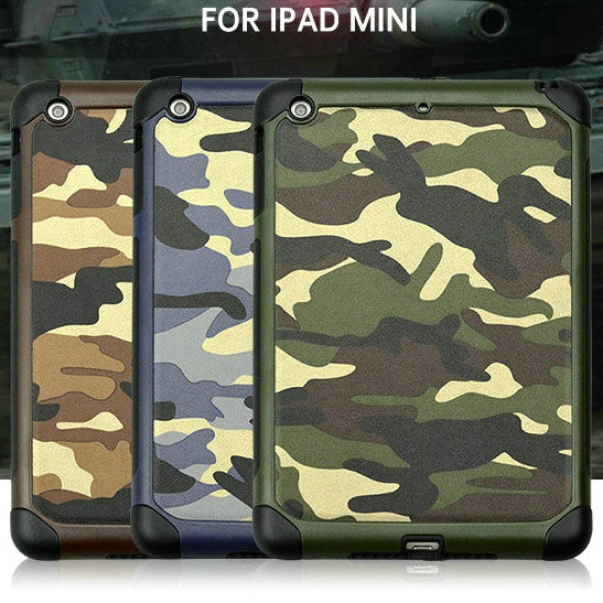 High quality Rubber back tablet cover for ipad mini 2 3