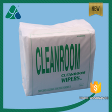 "12""X12"" Wood Pulp & Polyester Spunlace Nonwoven Fabric Cleanroom Wiper"