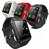 Free sample mobile phone watch u8 bluetooth smart watch u8 wholesale cheap price