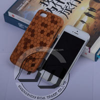 Newest Stylish Natural Carbonized Bamboo Wood phone Case for iPhone 5/6/6 Plus Wooden Bamboo case mobile phone case cover