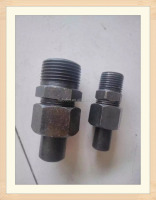 Chinese factory supply lowest price of carbon steel male pipe joint with high quality