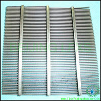 stainless steel 316L screen plate for separation