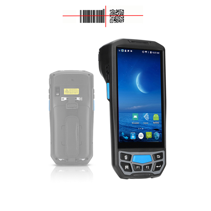 4G/Wifi/Bluetooth/NFC Wireless Portable Computer Data Collection Handheld PDA Barcode Scanner Android qr code reader terminal 4G