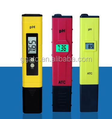 Hot sale manual pen type ph meter diagram with good material