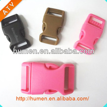 Guangdong paracord buckles ,plastic backpack strap insert buckles