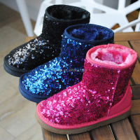 New Fashion Kids Warm Winter Sequined