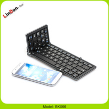 Aluminum Keyboard Case, Folding Aluminum Bluetooth Keyboard, Mini Foldable Bluetooth Keyboard For Tablet 7Inch 10inch