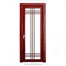 Double glass door interior glass door China supplier