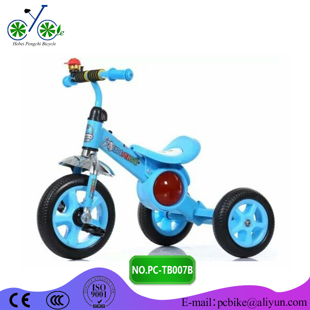 Good quaity Mental tricycle for kids / music baby tricycle china / cheap music trike for kids