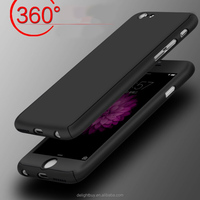 360 Full Body Protective Case Ultra Thin Case Cover with Tempered Glass Screen Protector for iphone 6/6s plus for iphone 5/5s