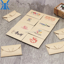 China Suppliers Custom Best Design Butterfly Clasp Envelope