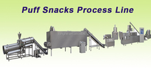 puff snacks process line