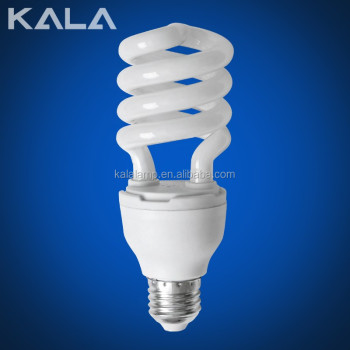 Half spiral 3000-8000hour cheap E27/B22/E14 7-250W led energy saving bulbs or energy saving lamp