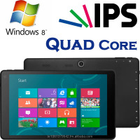 Windows Tablet PC, Intel Quad Core Z3735D, IPS, OGS, 32GB+2GB, High Quality, Slim Tablet