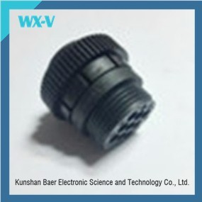 stock 9 pin Female Waterproof Electrical Connector