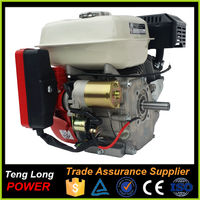 196cc loncin gasoline engine electric starter 4 stroke single cylinder engine