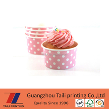 Hot selling ice cream paper cup,custom cheap disposable printed paper cup