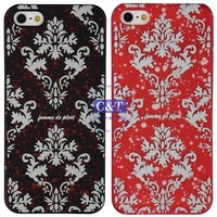 Various Pattern new candy color pc back cover case for iphone 5 5s