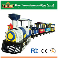 Mall tourist trackless train electric train for sale